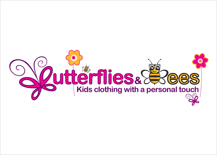 kids clothing business logo design small business