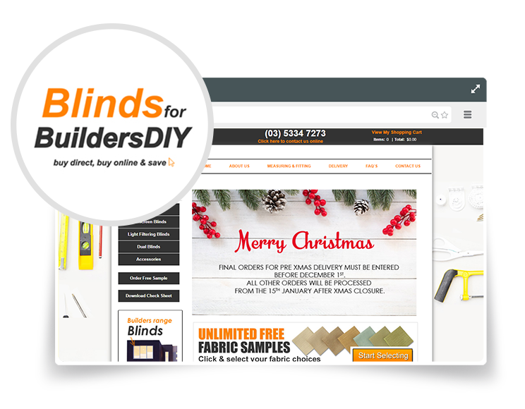 Blinds for Builders DIY
