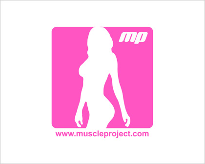 Muscle Project Female Logo Design