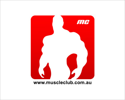 Muscle Project Fitness Logo Design