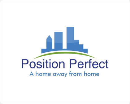 Position Perfect Holiday Rental Logo Design